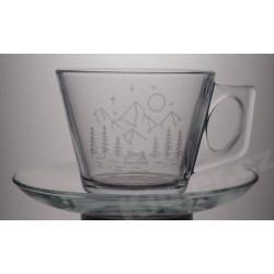 Šálek na kávu Hory a stan