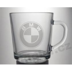 Skleněný hrneček BMW