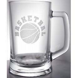 Půllitr basketbal