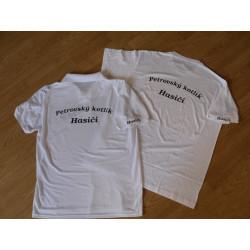 Tričko s libovolným popisem