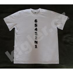 Motorkářské tričko bílé...