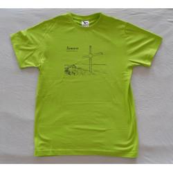 Turistické tričko na přání...
